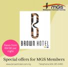 Brown hotel-mgs members