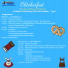 V2oktoberfest 2019 food  program